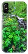 Wahkeena Falls In The Columbia River Gorge IPhone Case