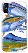 Wahoo Tuna Dolphin IPhone Case