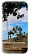 Waialae Beach Park Bridge Too IPhone X Case