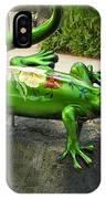 Waikiki Gecko IPhone Case