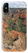 Waimea Canyon IPhone Case