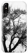 Waiting By Our Tree IPhone Case