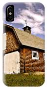 Waiting For The Barn Dance IPhone Case