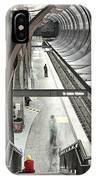 Waiting - Hollywood Subway Station. IPhone Case