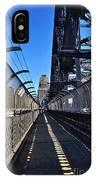 Walk Across Sydney Harbour Bridge IPhone Case