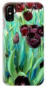 Walk Among The Tulips IPhone Case