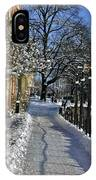 Walk At The Water  IPhone Case