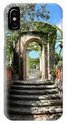 Walk In Vizcaya Gardens IPhone Case