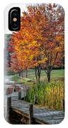 Walk Into Fall IPhone Case