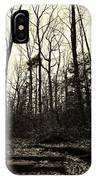 Walk Into Nature IPhone Case