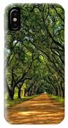 Walk With Me Paint Version IPhone Case