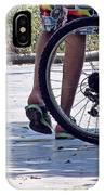 Walking And Biking IPhone Case