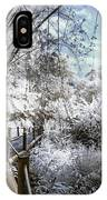 Walking Into The Infrared Jungle 2 IPhone Case