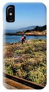 Walking On The Boardwalk IPhone Case