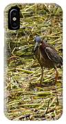 Walking On The Reeds IPhone Case