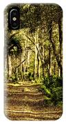 Walking The Bluff Artistic IPhone Case