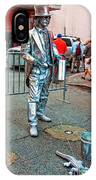 Walking The Gator Bourbon St. Nola IPhone Case