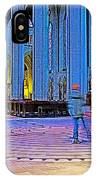 Walking The Indoor Labyrinth In Grace Cathedral In San Francisco-california IPhone Case