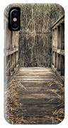 Walkway Out IPhone Case