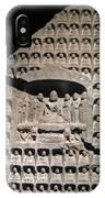 Wall Of Buddha IPhone Case