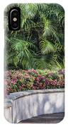 Wall Of Flowers IPhone Case