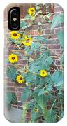 Wall Of Sunflowers 1 IPhone Case