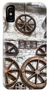 Wall Of Wheels IPhone Case