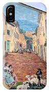 Wall Painting In Provence IPhone Case