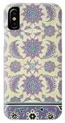 Wall Tiles From The Palace Of Ismayl Bey From Arab Art As Seen Through The Monuments Of Cairo  IPhone Case