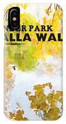Walla Walla IPhone Case