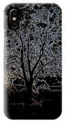 Walnut Tree Series Glowing Edges IPhone Case