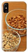 Walnuts And Almonds IPhone Case