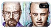 Walter And Jesse - Breaking Bad IPhone X Case