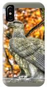 War Eagles - 28th Massachusetts Volunteer Infantry Rose Woods The Wheatfield Fall-a Gettysburg IPhone Case