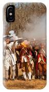 War - Revolutionary War - The Musket Drill IPhone Case