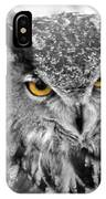 Watching You Owl IPhone Case