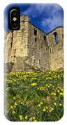 Warkworth Castle In Spring IPhone Case