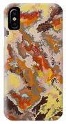 Warm Abstract IPhone Case