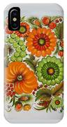 Warm And Green IPhone Case