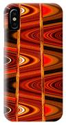 Warm Colors Lines And Swirls Abstract IPhone Case