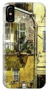 Warmth Of Old Villefranche IPhone Case