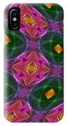 Warped Kaleidoscopic Lattice IPhone Case
