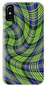 Warped Scott Ancient Green Tartan IPhone Case