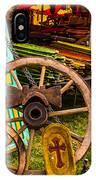 Warrenton Antique Days Wood Wheels And Wonders IPhone Case