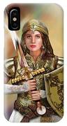 Warrior Bride Of Christ IPhone Case