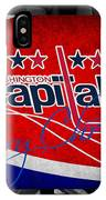 Washington Capitals Christmas IPhone Case