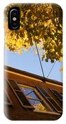 Washington D C Facades - Reflecting On Autumn In Georgetown  IPhone Case