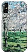 Washington Dc Cherry Blossoms IPhone Case