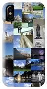 Washington D. C. Collage 3 IPhone Case