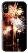 Washington Monument Fireworks 2 IPhone Case